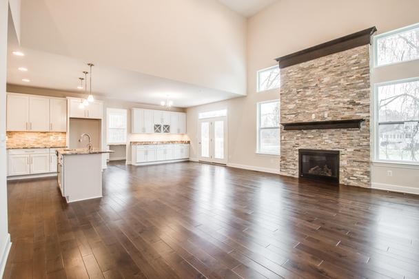 Great Room, Nook & Kitchen