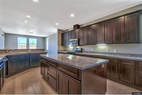 Kitchen-in-Residence 3-at-Cottages at Carson Valley-in-Gardnerville