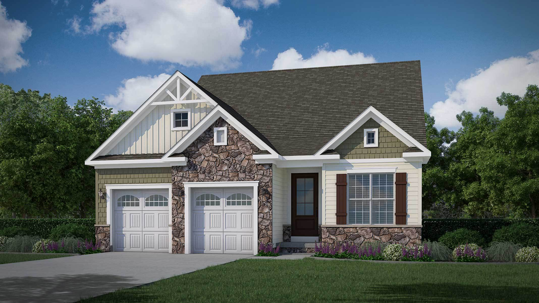 Exterior featured in The Rachel By Bob Ward Homes in Baltimore, MD
