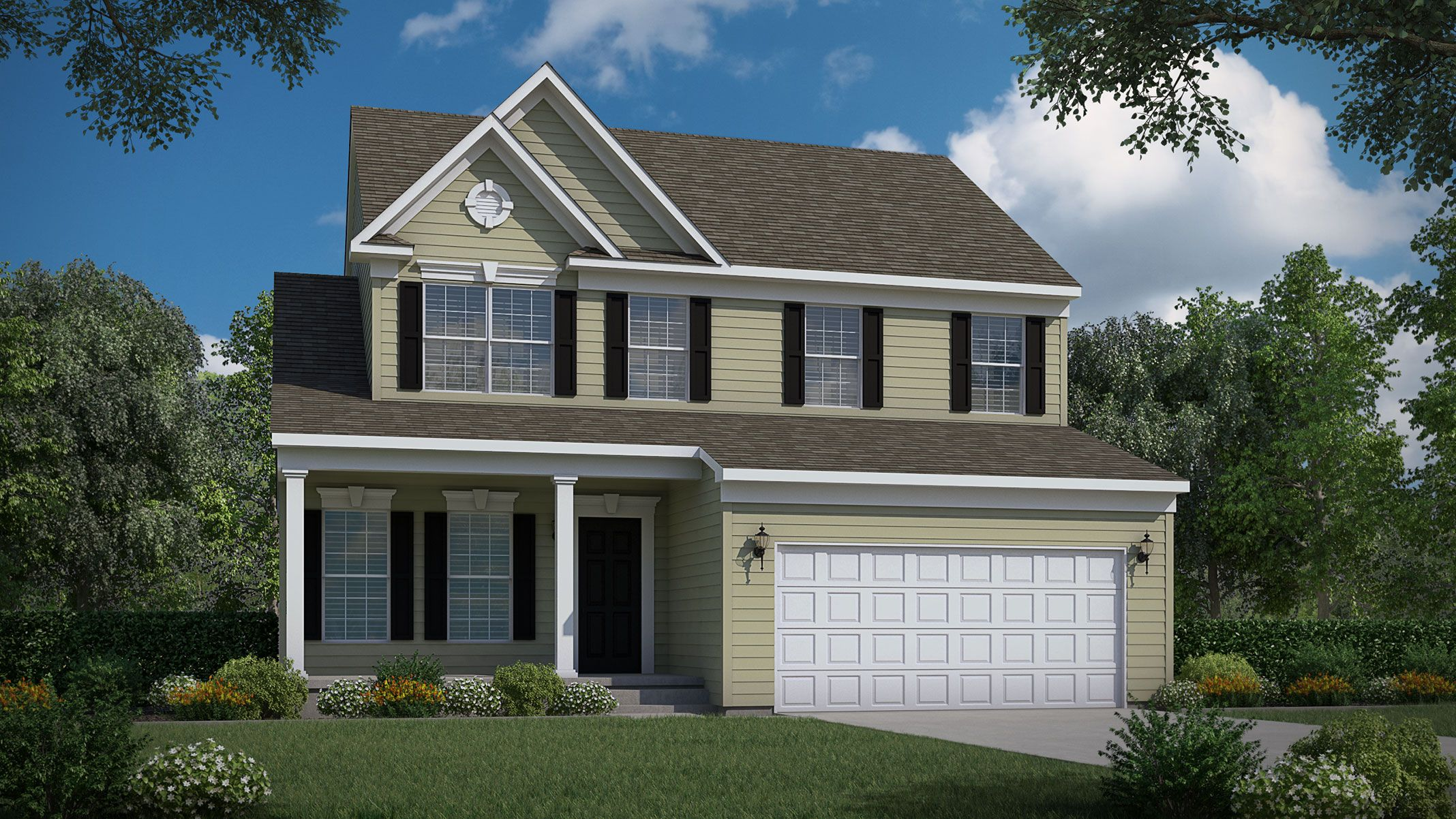 Exterior featured in The Augusta By Bob Ward Homes in Baltimore, MD