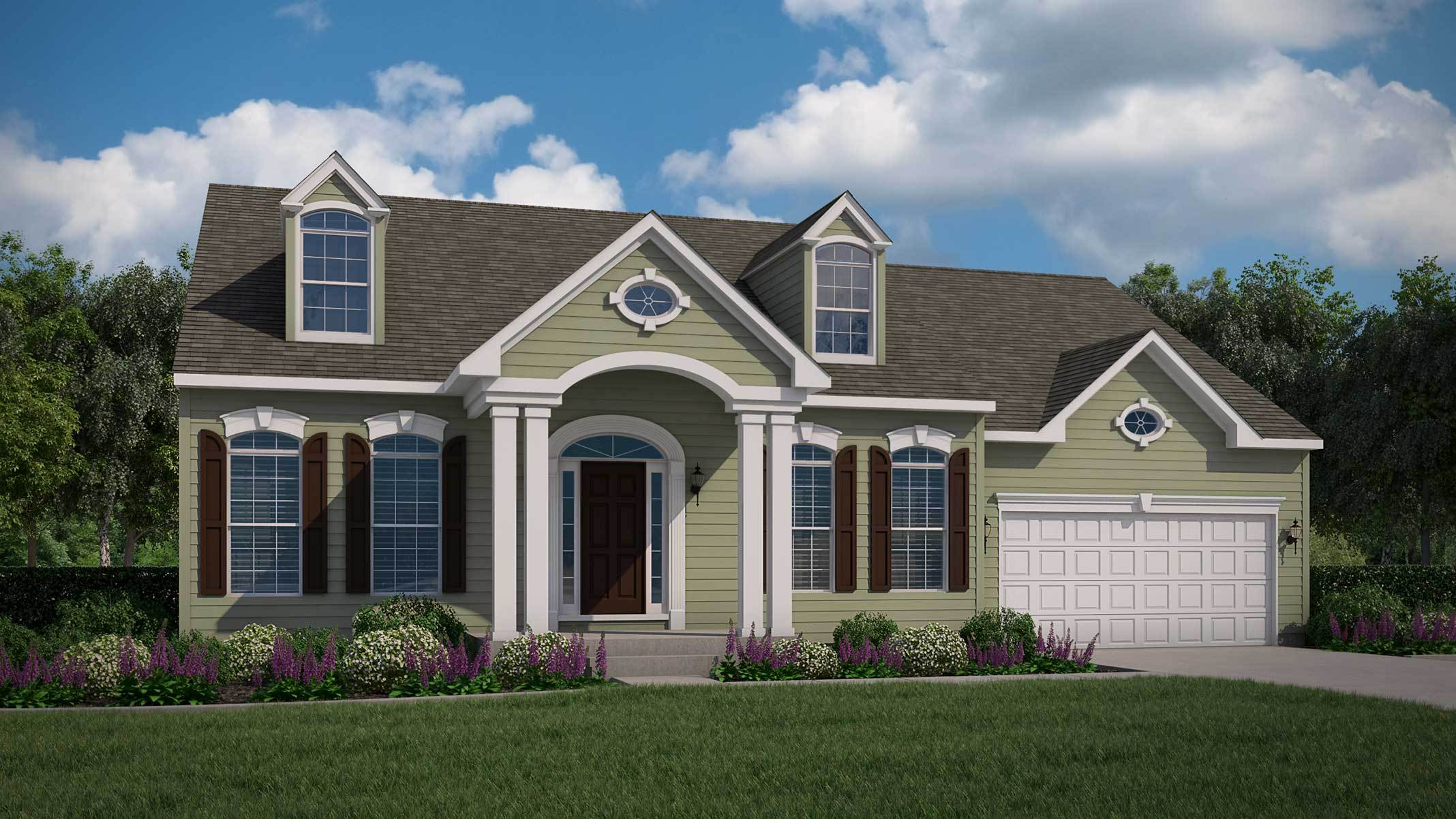 Exterior featured in The Chesapeake II By Bob Ward Homes in Baltimore, MD