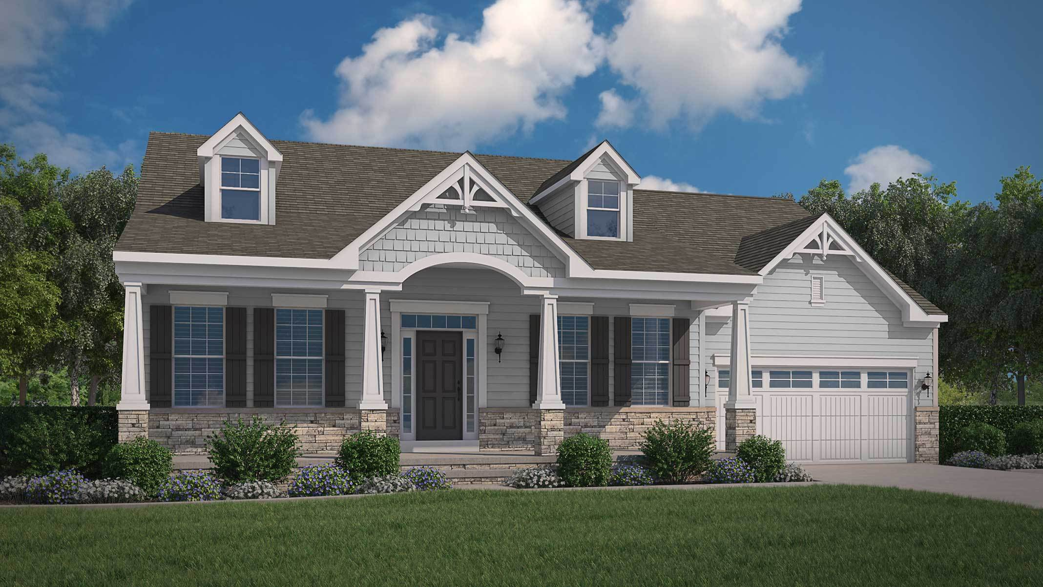 Exterior featured in The Chesapeake II By Ward Communities in Baltimore, MD