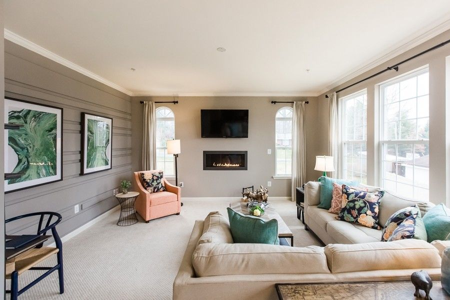 Living Area featured in The Hampton By Bob Ward Homes in Baltimore, MD