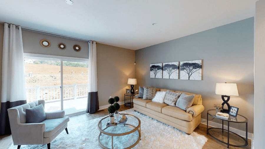 Living Area featured in the Parkland By Bob Ward Homes in Baltimore, MD