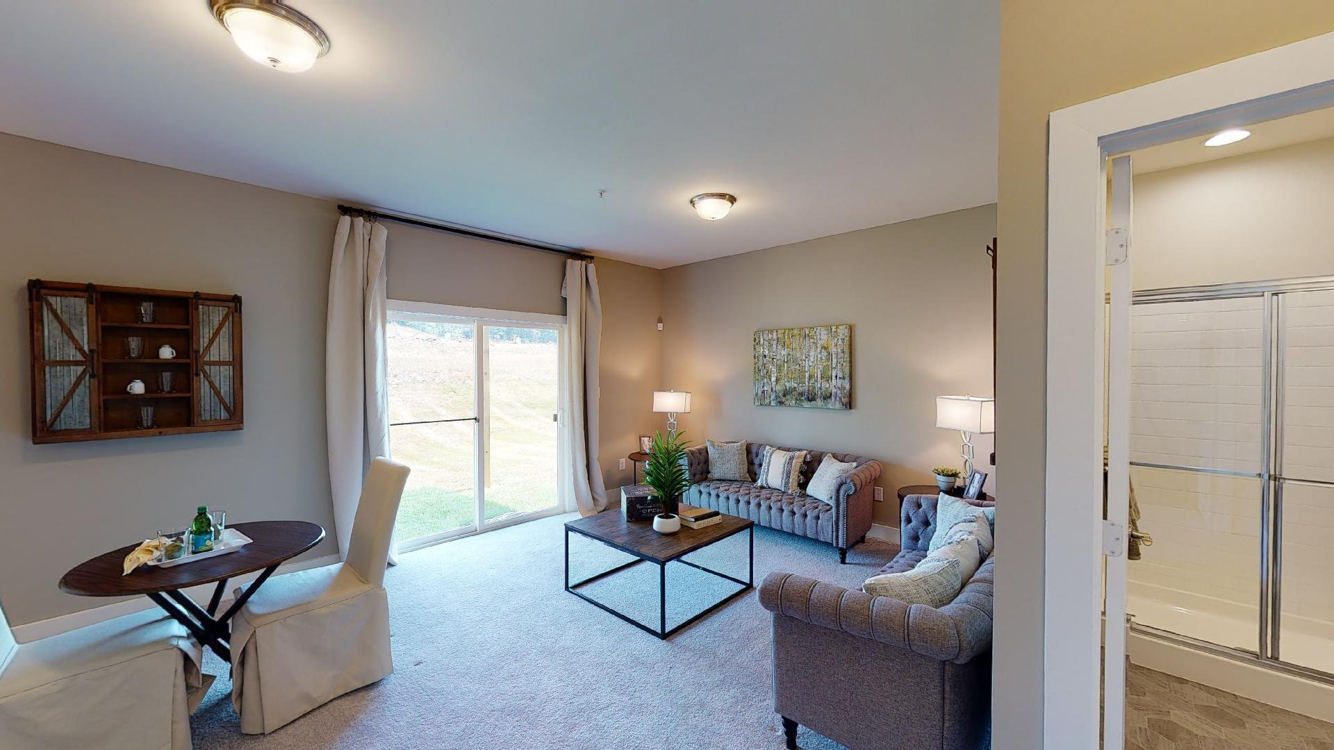 Living Area featured in the Lexington II By Ward Communities in Baltimore, MD