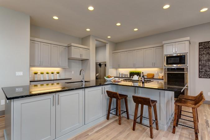 Kitchen featured in the Plateau By Boise Hunter Homes in Boise, ID