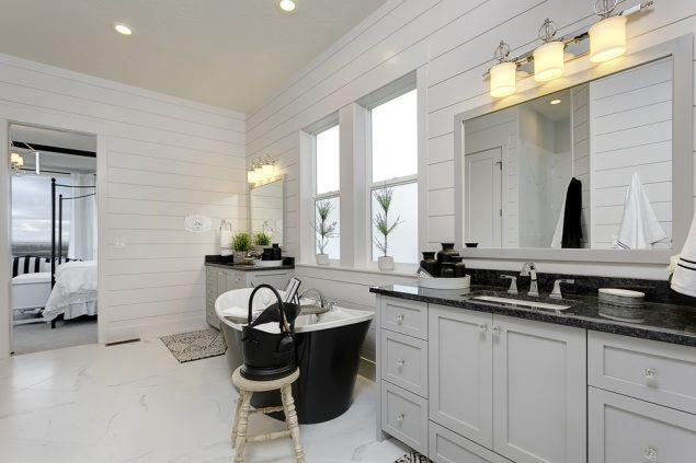 Bathroom featured in the Cottonwood By Boise Hunter Homes in Boise, ID