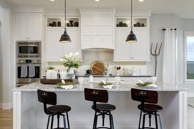 Kitchen featured in the Cottonwood By Boise Hunter Homes in Boise, ID