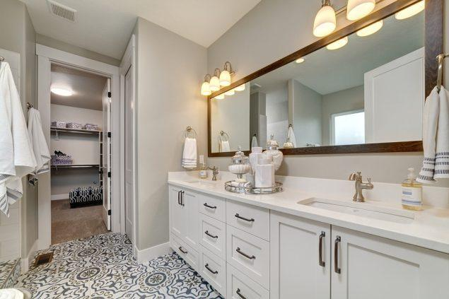 Bathroom featured in the Houston By Boise Hunter Homes in Boise, ID
