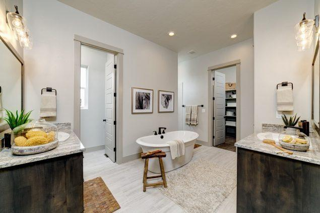 Bathroom featured in the Sagewood By Boise Hunter Homes in Boise, ID