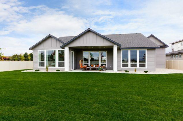 Exterior featured in the Sagewood By Boise Hunter Homes in Boise, ID