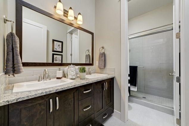 Bathroom featured in the Summit By Boise Hunter Homes in Boise, ID