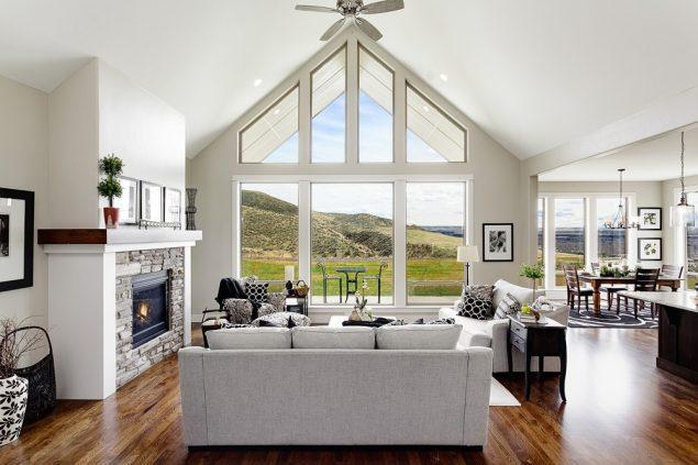 Living Area featured in the Summit By Boise Hunter Homes in Boise, ID