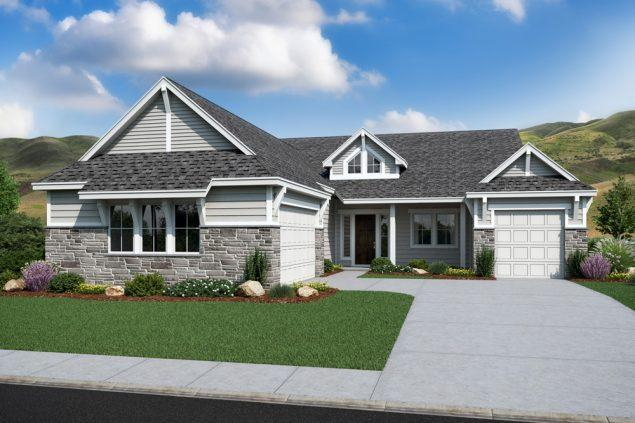 Exterior featured in the Summit By Boise Hunter Homes in Boise, ID