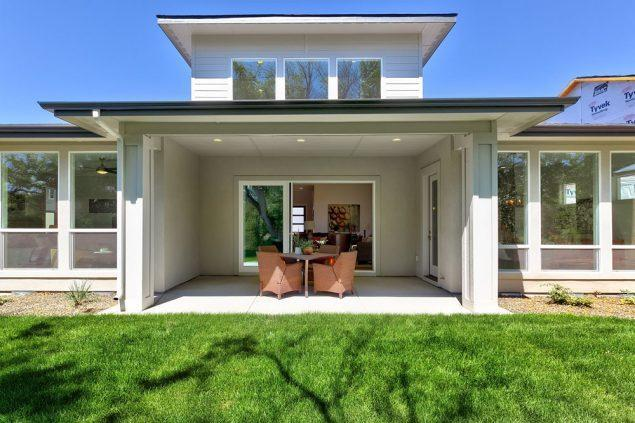 Exterior featured in the Tablerock By Boise Hunter Homes in Boise, ID