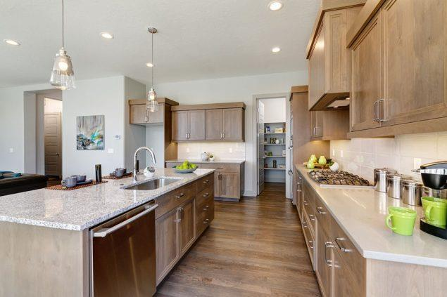 Kitchen featured in the Ridgeview By Boise Hunter Homes in Boise, ID