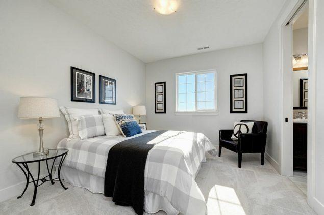 Bedroom featured in the Crestline By Boise Hunter Homes in Boise, ID