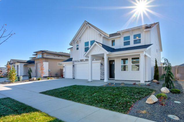 Exterior featured in the Clearwater By Boise Hunter Homes in Boise, ID