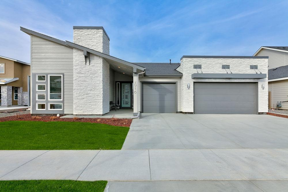 Exterior featured in the Pinyon By Boise Hunter Homes in Boise, ID