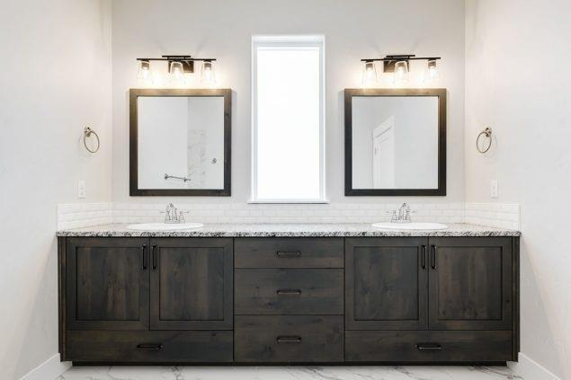 Bathroom featured in the Pinyon By Boise Hunter Homes in Boise, ID