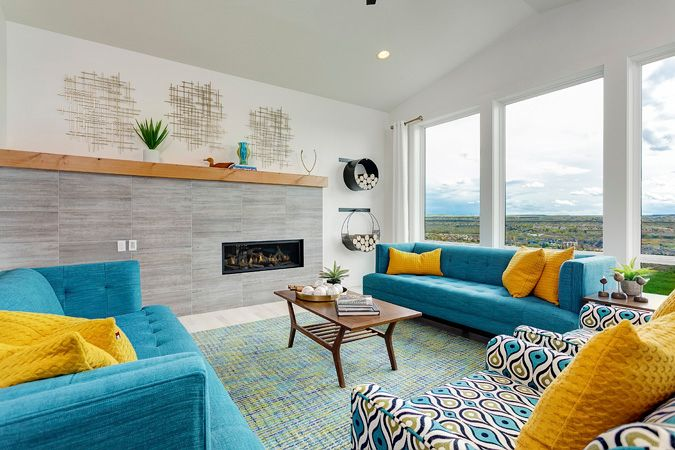 Living Area featured in the Shoshone By Boise Hunter Homes in Boise, ID