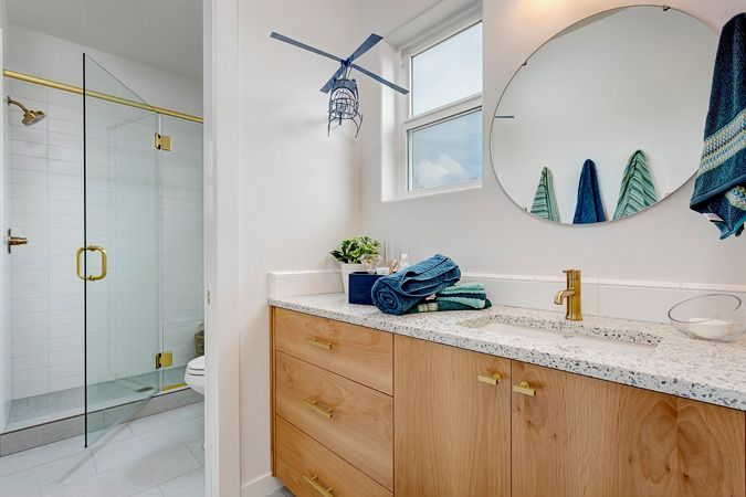 Bathroom featured in the Shoshone By Boise Hunter Homes in Boise, ID