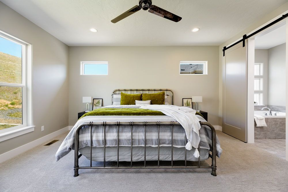 Bedroom featured in the Houston By Boise Hunter Homes in Boise, ID