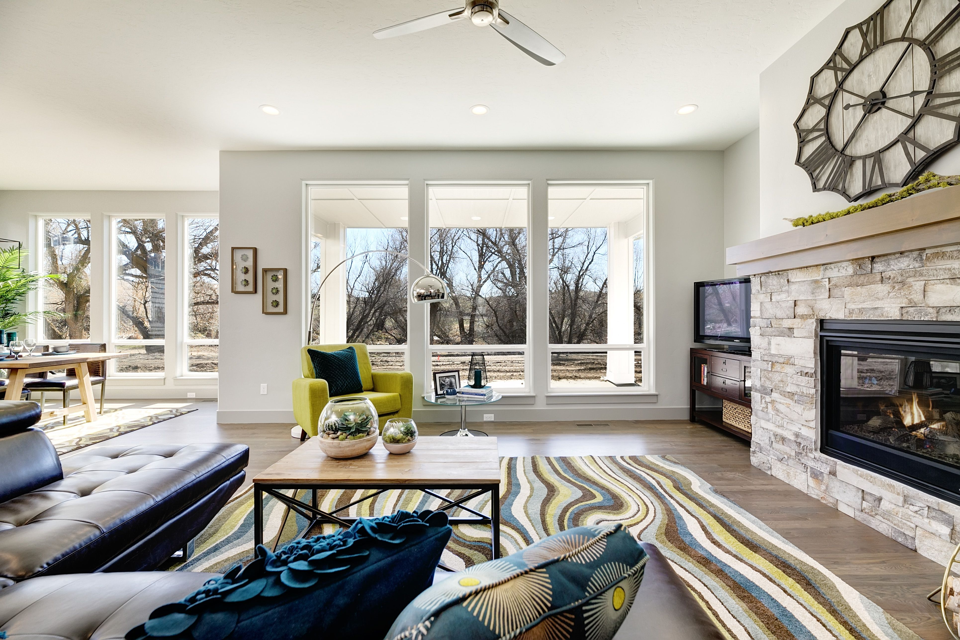 Living Area featured in the Ridgeview By Boise Hunter Homes in Boise, ID