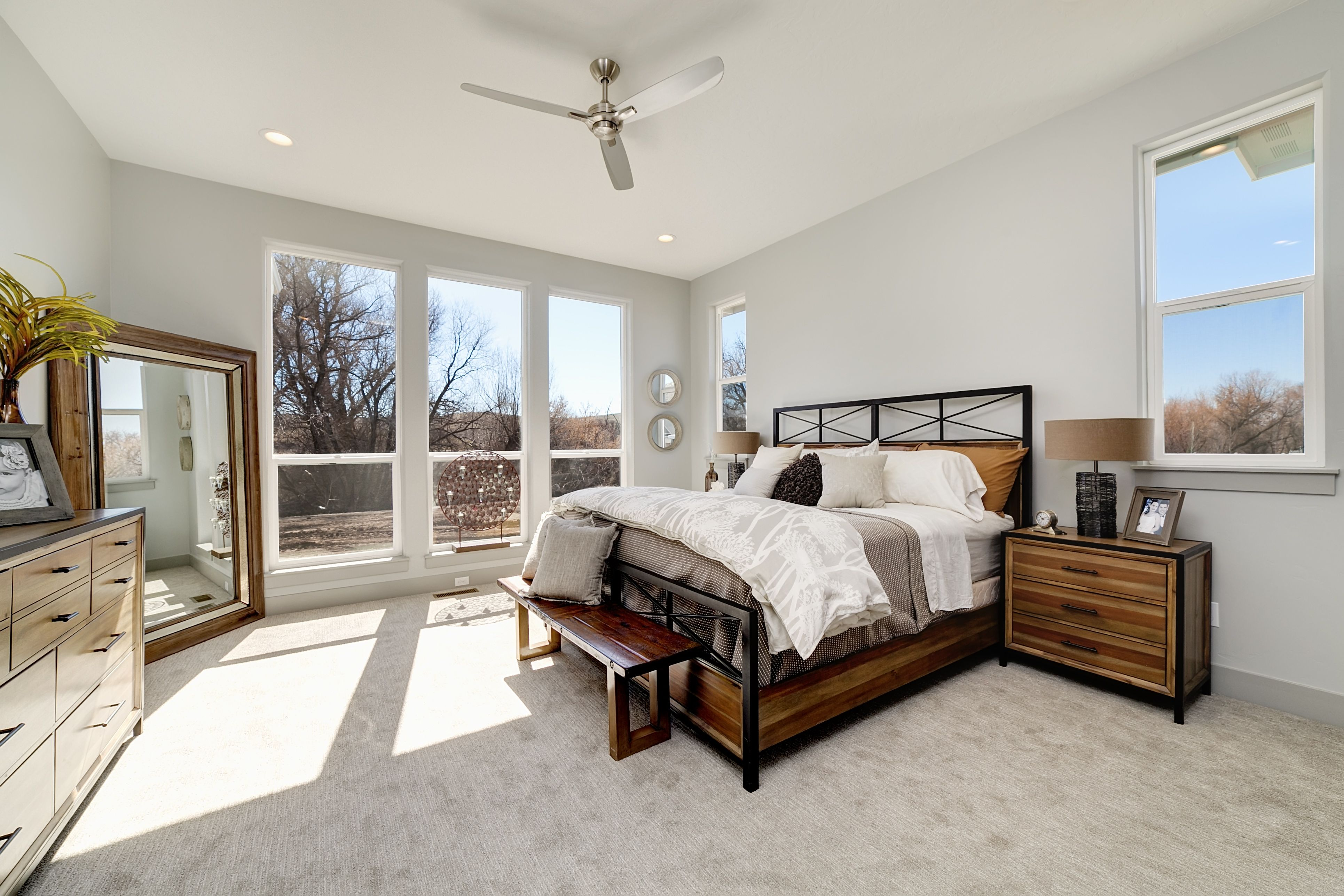 Bedroom featured in the Ridgeview By Boise Hunter Homes in Boise, ID