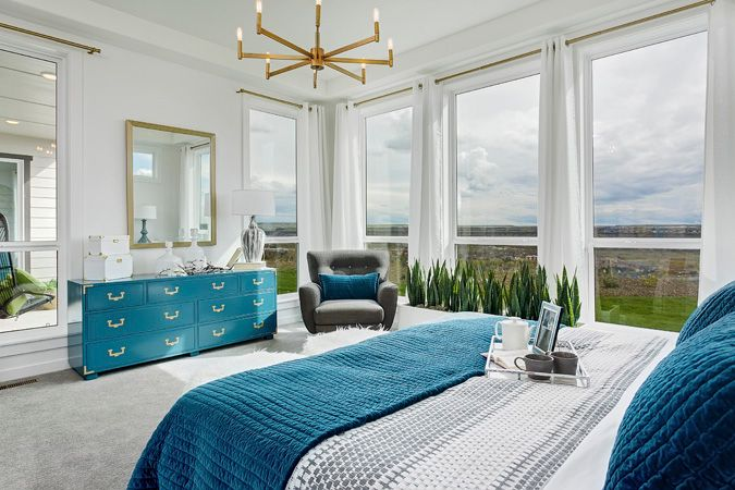 Bedroom featured in the Shoshone By Boise Hunter Homes in Boise, ID