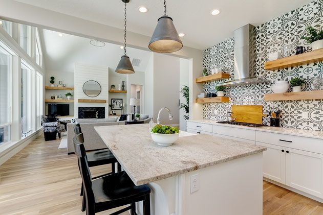 Kitchen featured in the Summit By Boise Hunter Homes in Boise, ID