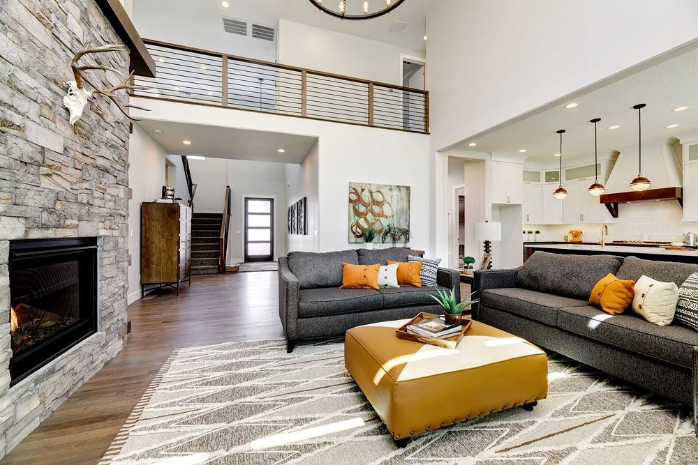 Living Area featured in the Tablerock By Boise Hunter Homes in Boise, ID