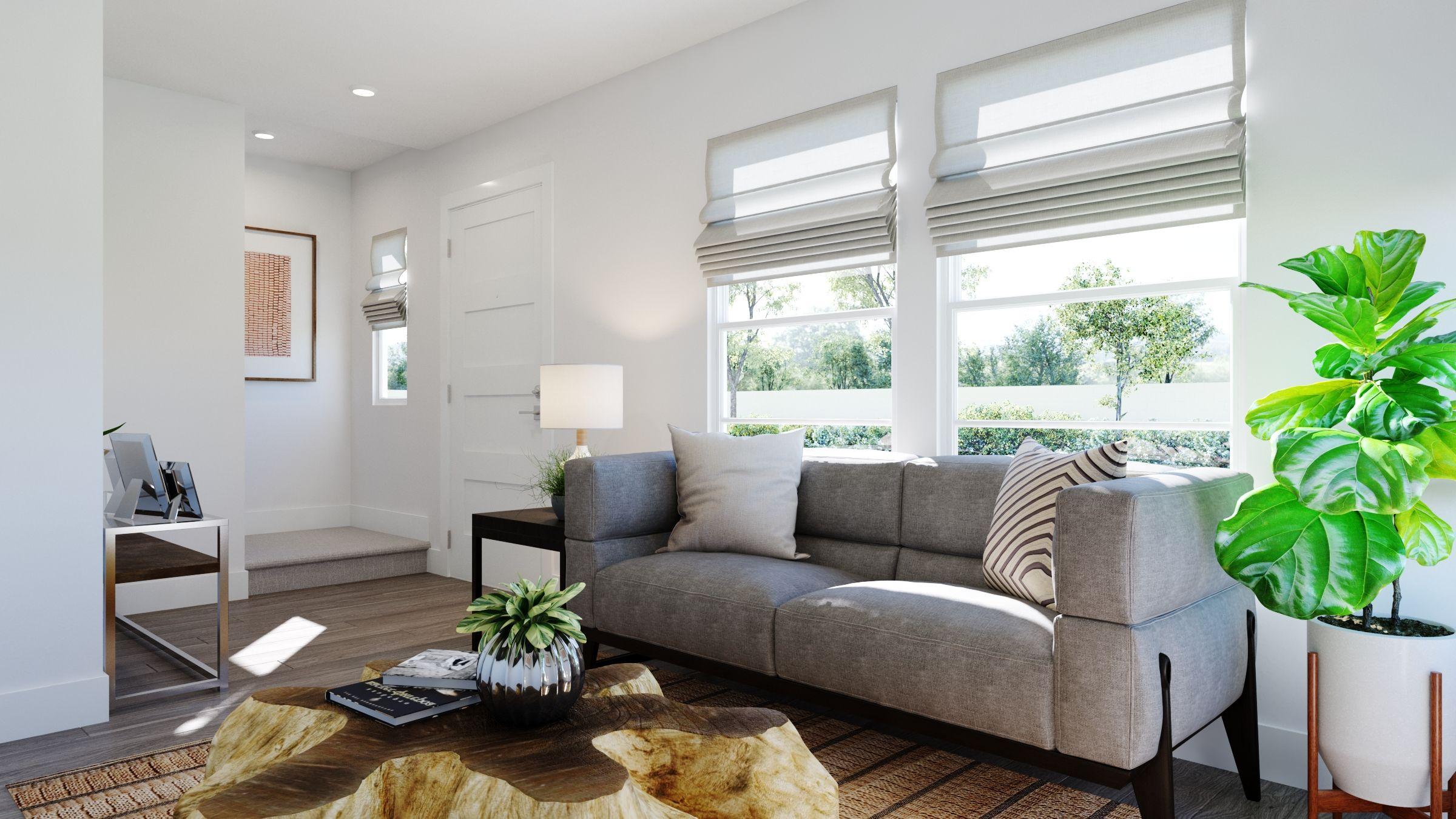 Living Area featured in the Volara Plan 2 By Bonanni Development in Orange County, CA