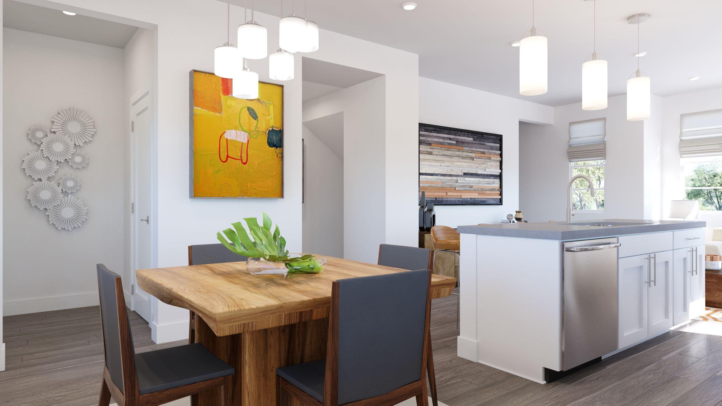 Kitchen featured in the Volara Plan 2 By Bonanni Development in Orange County, CA