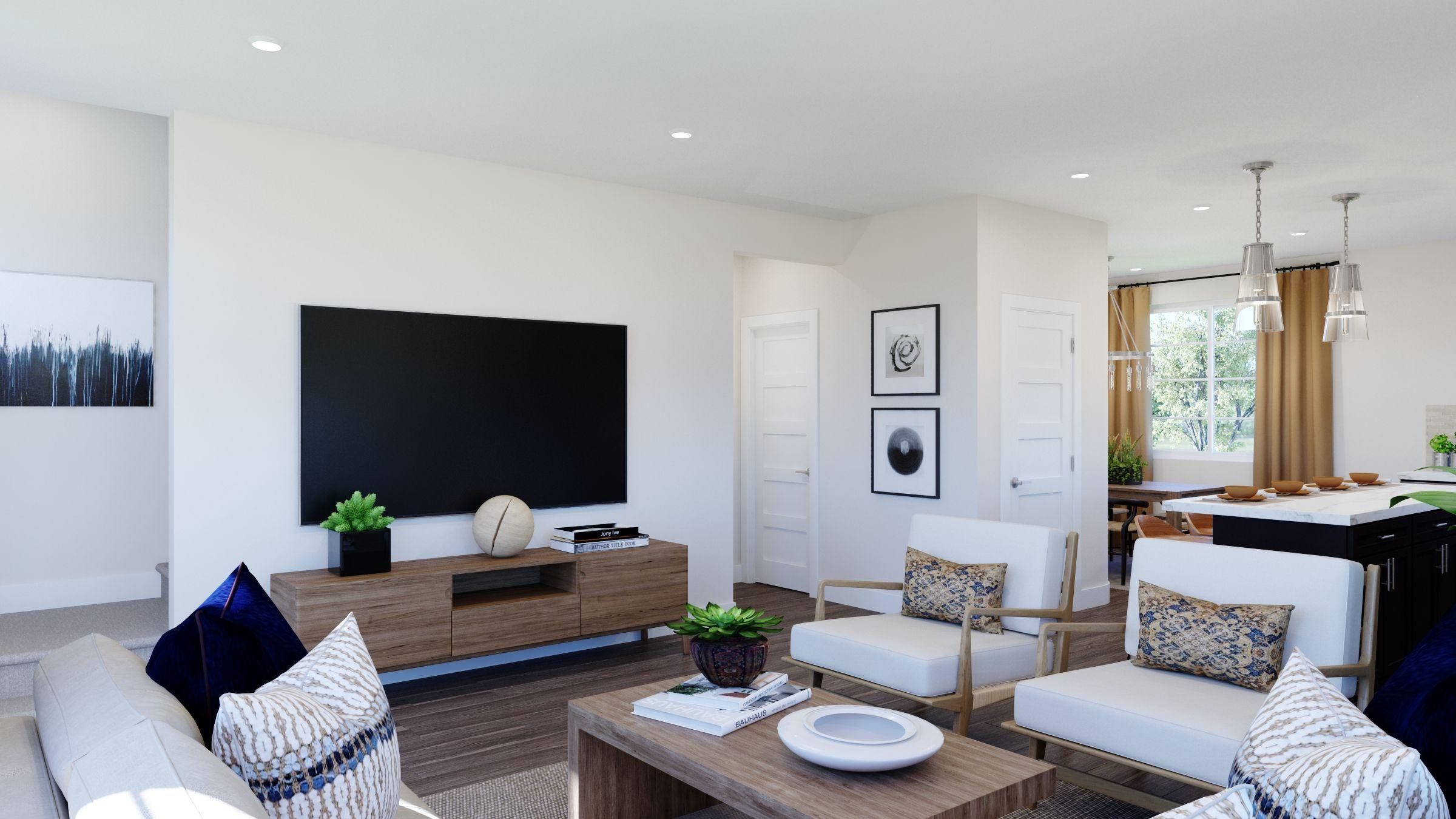 Living Area featured in the Volara Plan 3 By Bonanni Development in Orange County, CA