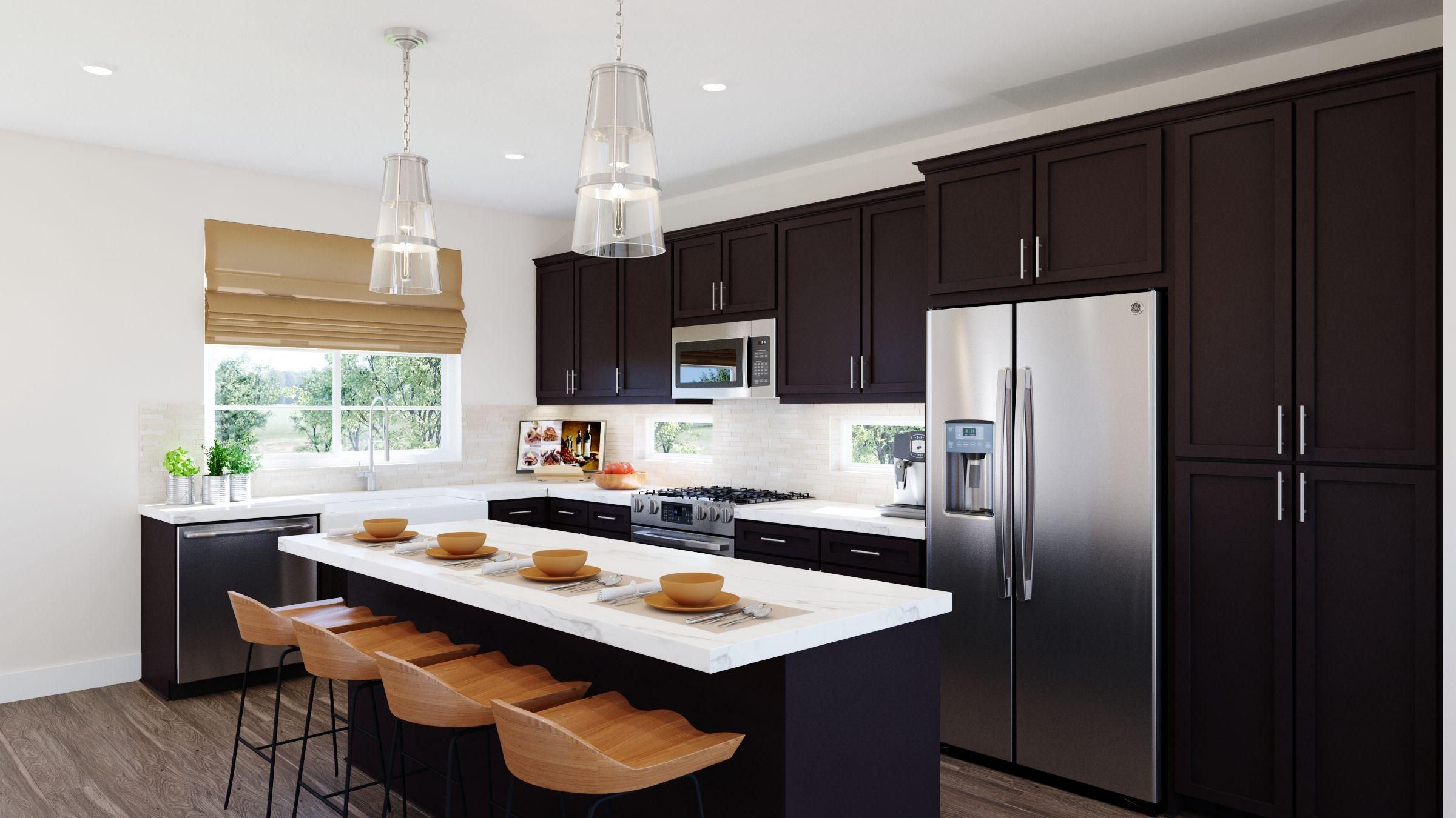 Kitchen featured in the Volara Plan 3 By Bonanni Development in Orange County, CA
