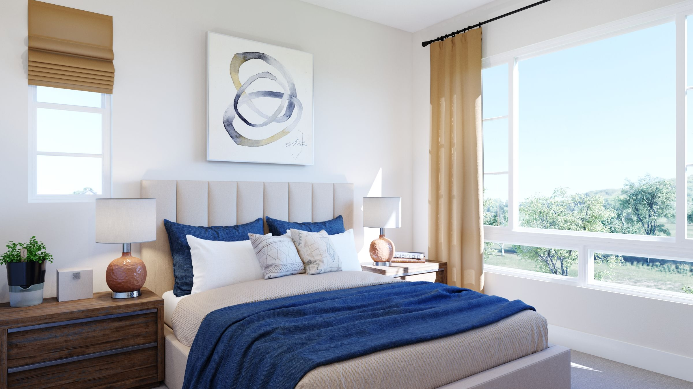 Bedroom featured in the Volara Plan 3 By Bonanni Development in Orange County, CA