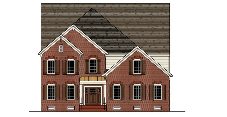 Brookstone II elevation A:Brookstone II elevation A