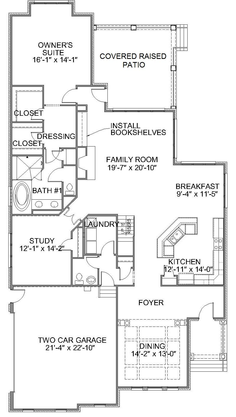 KL 23 First Floor Plan