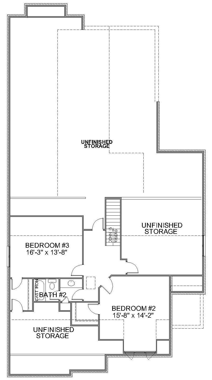 Kl 23 Second Floor Plan