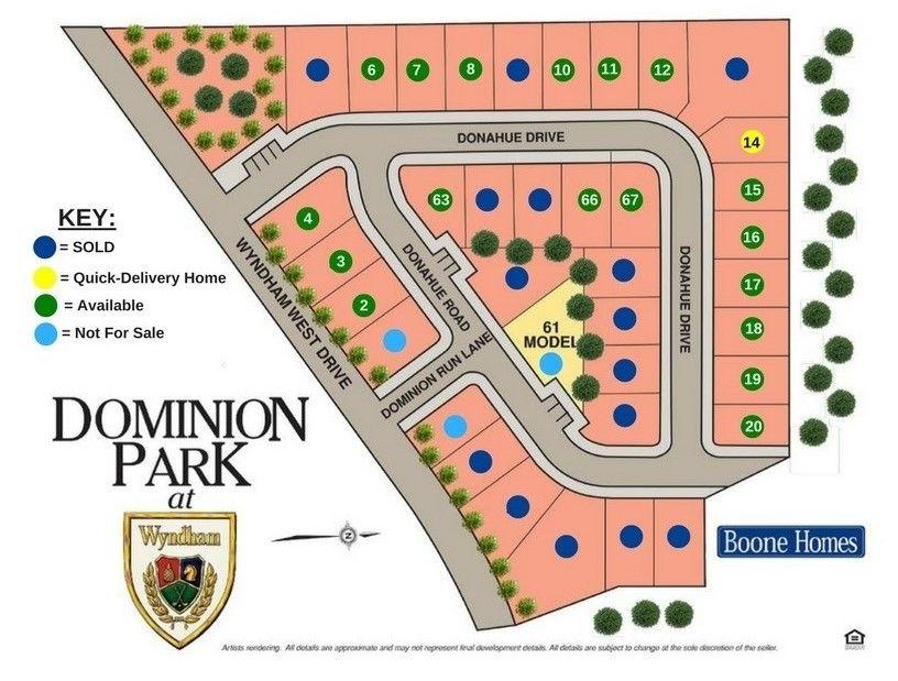 Dominion Park Community Map