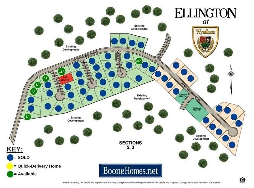 Ellington Community Map