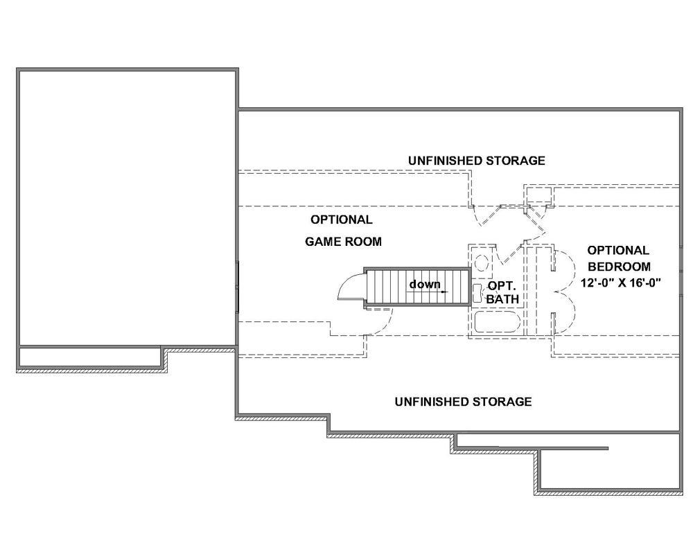 Pinnacle Optional Third Floor Plan