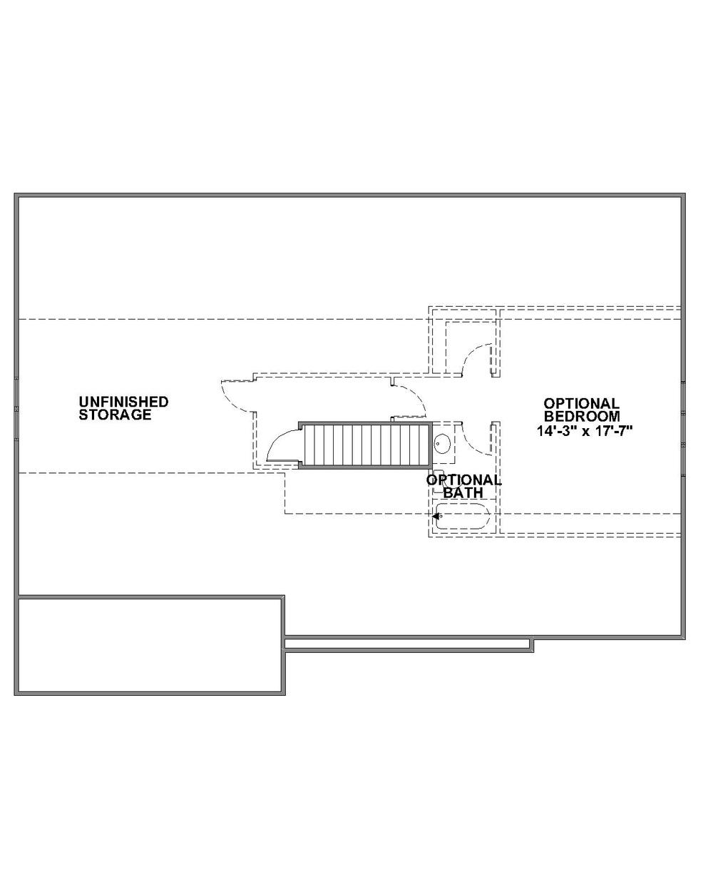 Barclay Optional Third Floor Plan