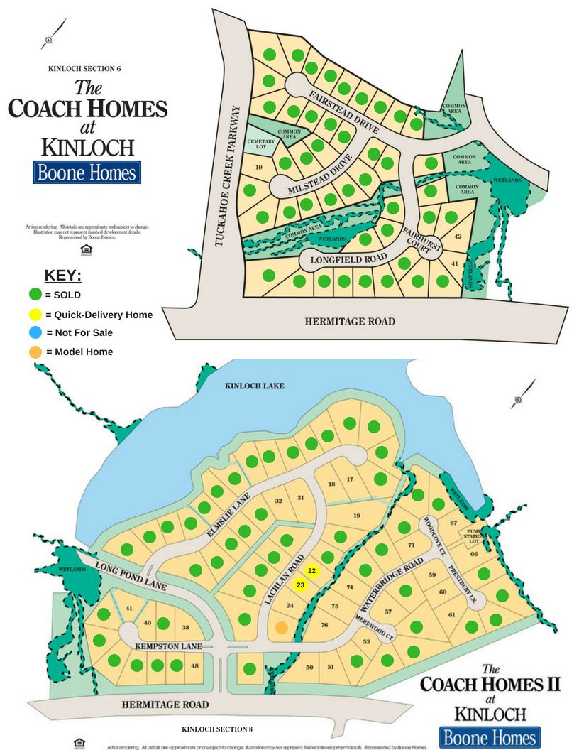 Kinloch Section 6 and Section 8 Community Map