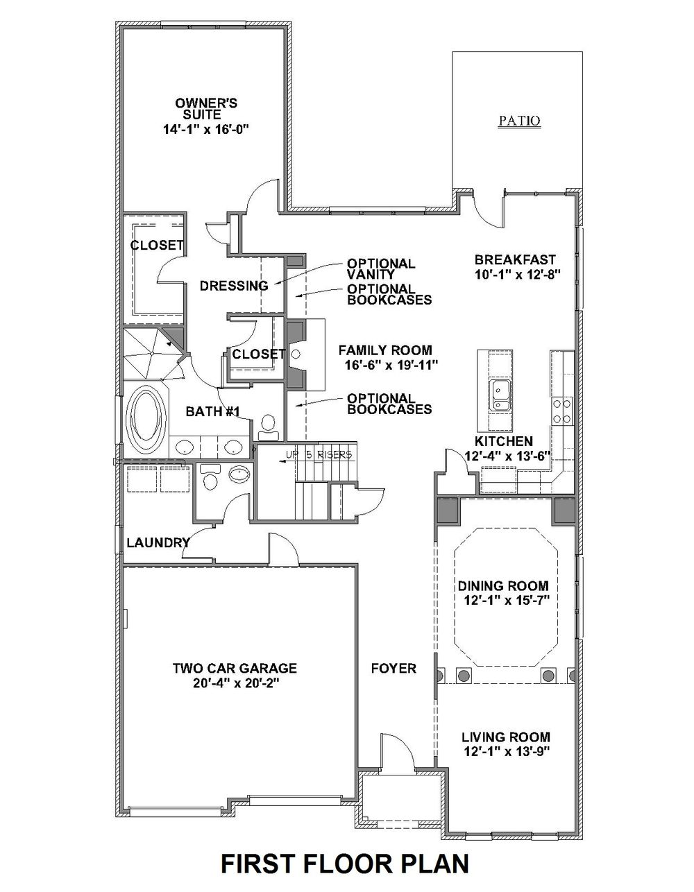 Harmont First Floor Plan