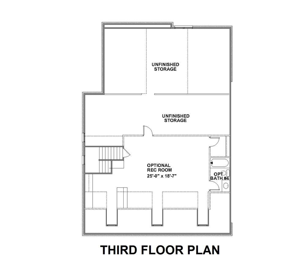 Third Floor Lynnewood Hall Floor Plan