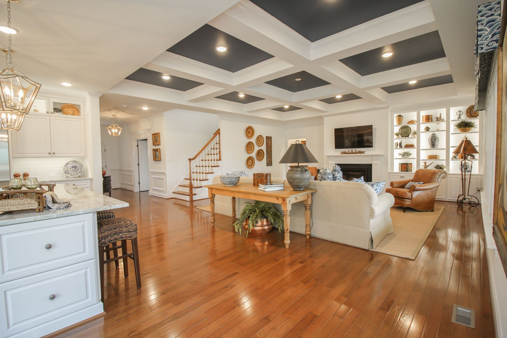 Living Area featured in the Lochbriar II By Boone Homes, Inc. in Richmond-Petersburg, VA