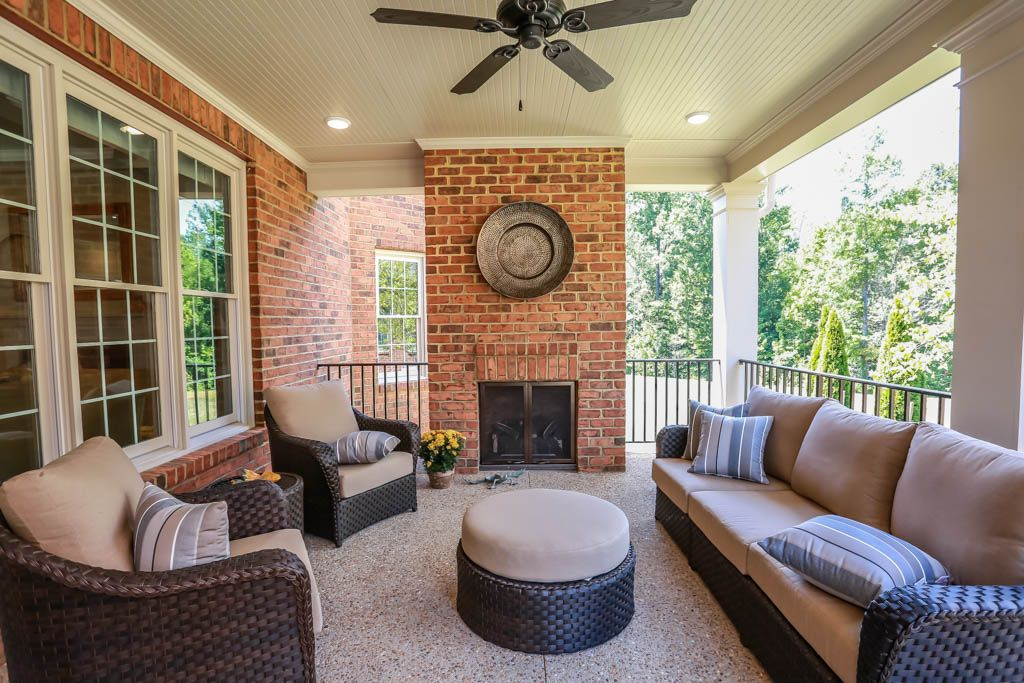 Exterior featured in the Hampworth By Boone Homes, Inc. in Richmond-Petersburg, VA