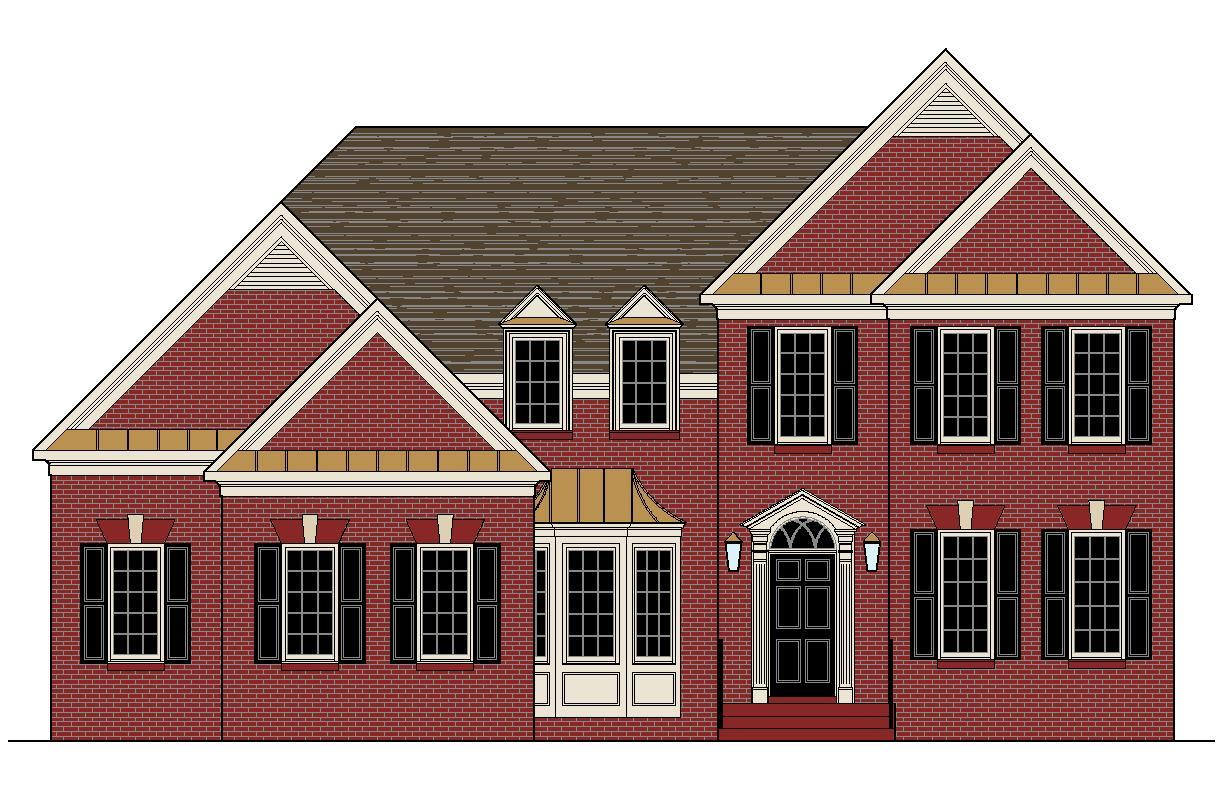 Exterior featured in the Moorcroft By Boone Homes, Inc. in Richmond-Petersburg, VA